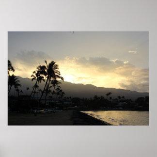 pristine sunrise print