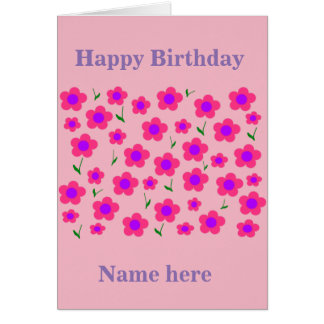 Pritty In Pink Card