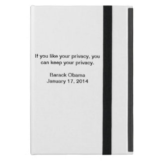 Privacy Barrack Obama iPad Mini Case