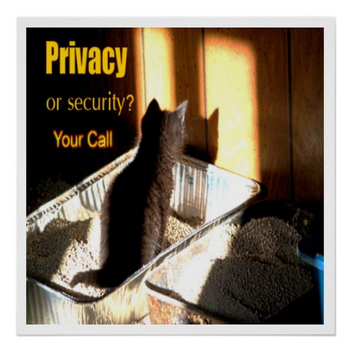 Privacy or Security? Print