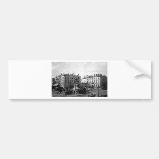 PRIVAT LIVEMONT BRUXELLE PLACES ROYAL 1900 BUMPER STICKER