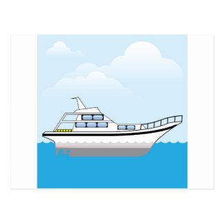 Private Boat Postcard
