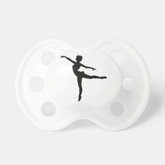 PRIVATE DANCER (silhouette - modern dance) ~ Baby Pacifiers