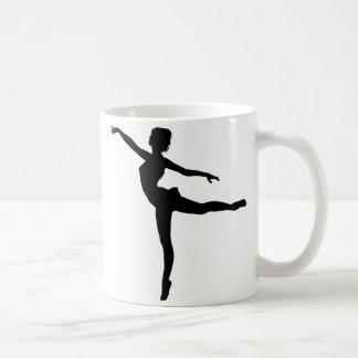 PRIVATE DANCER (silhouette - modern dance) ~ Coffee Mug