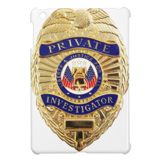 Private Investigator Badge Case For The iPad Mini