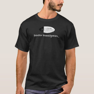Private Investigators (For the Ladies) T-Shirt