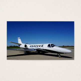 Private Jet Business Card