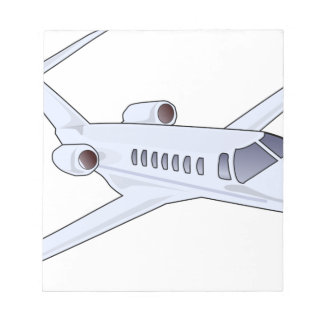 Private Jet Notepad