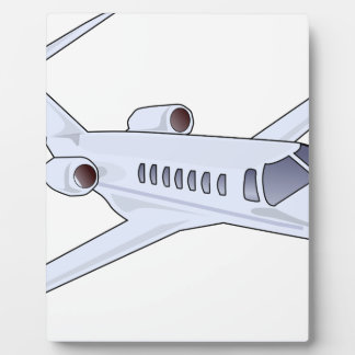 Private Jet Plaque