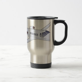 Private Jet Travel Mug