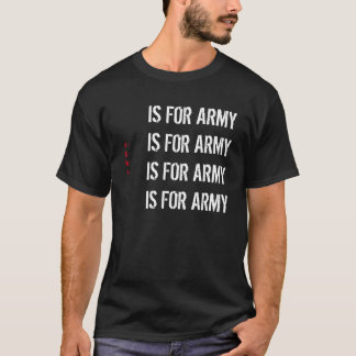 Private News Network - A is for Army T-Shirt