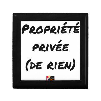 PRIVATE PROPERTY - Word games - François City Gift Box