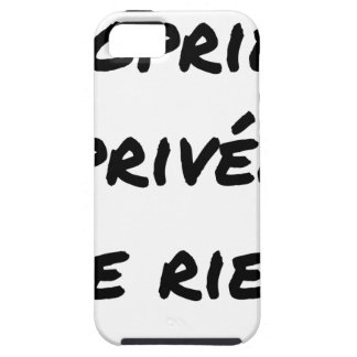 PRIVATE PROPERTY - Word games - François City iPhone 5 Case