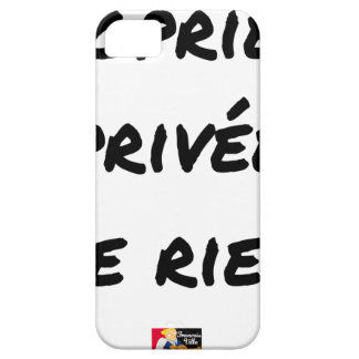 PRIVATE PROPERTY - Word games - François City iPhone 5 Cover