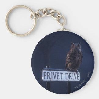Privet Drive Basic Round Button Key Ring