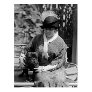 Prize Bulldog, 1910s Postcard