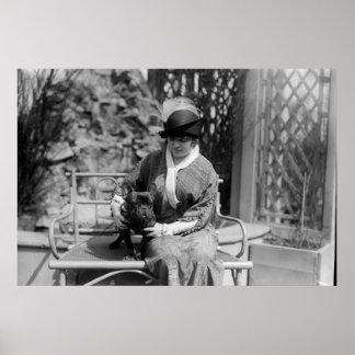Prize Bulldog: 1914 Poster