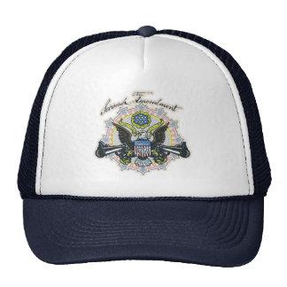 Pro 2nd Amendment Gun-Toting Eagle Gear Trucker Hats