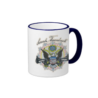 Pro 2nd Amendment Gun-Toting Eagle Gear Mug