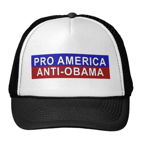 Pro America, Anti-Obama Gear Cap