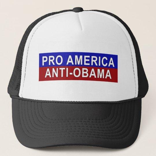 Pro America, Anti-Obama Gear Trucker Hat