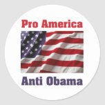 Pro America  Sticker