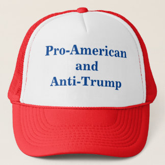 Pro-American and Anti-Trump Cap