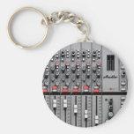 Pro Audio Mixer Key Chain