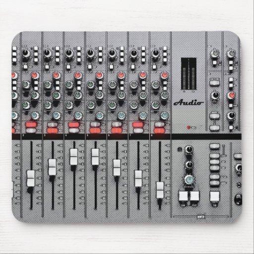 Pro Audio Mixer Mouse Pad