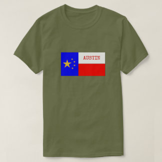 PRO-AUSTIN FLAG New and Improved! T-Shirt