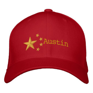 PRO-AUSTIN HAT -GOLD LETTERING