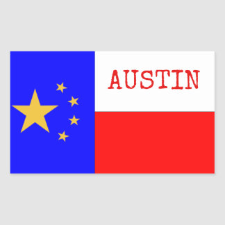 PRO-AUSTIN RECTANGLE STICKERS