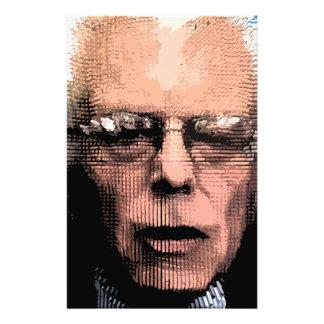 Pro-Bernie Sanders 2016 Stationery Design