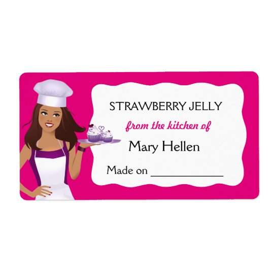 Pro Chef Baking Goods Customisable Food Label