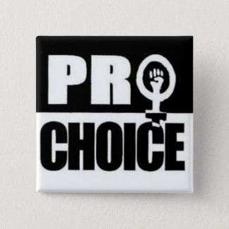 Pro-choice 15 Cm Square Badge