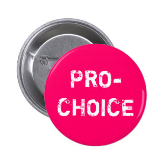Pro-Choice 6 Cm Round Badge