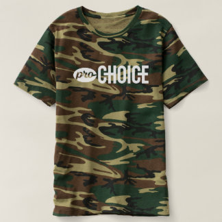 Pro-Choice Unisex Camo T-Shirt