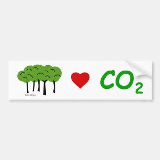 Pro-CO2 Bumper Sticker
