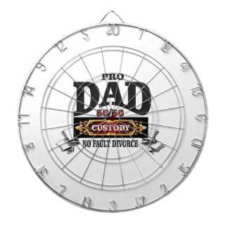 pro dad in custody courts dartboard