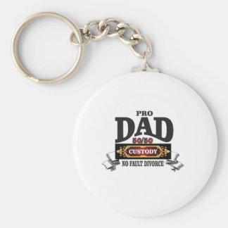 pro dad in custody courts key ring