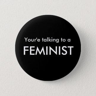 Pro-Feminism Button