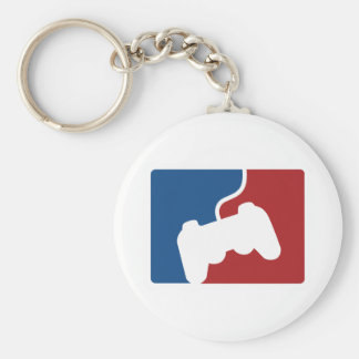Pro Gamer Basic Round Button Key Ring