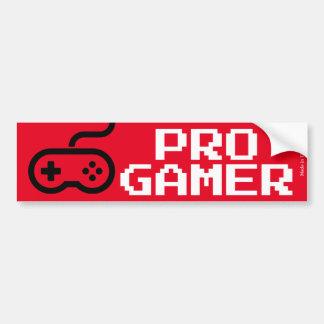 Pro Gamer Bumper Sticker