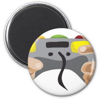 pro gamer!  Customizable: 6 Cm Round Magnet
