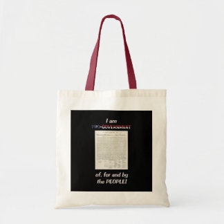 Pro-government Of, For And By The People Tote Bag