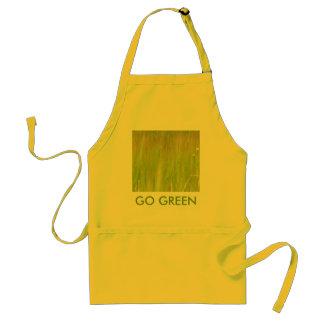 Pro green adult apron