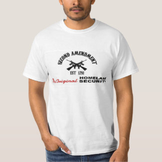 PRO GUN: ORIGINAL HOMELAND SECURITY 2nd AMENDMENT T-Shirt