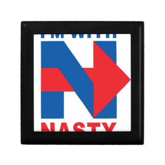 """Pro Hillary Clinton """"I'm with Nasty"""" Gift Box"""