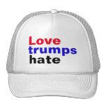 Pro Hillary Love Trumps Hate Cap