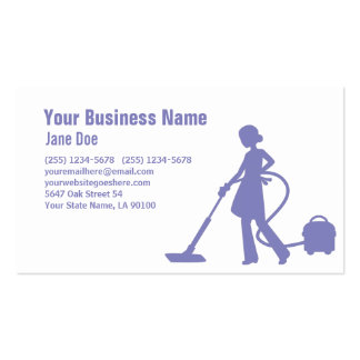 Pro House Cleaning Service Business Card